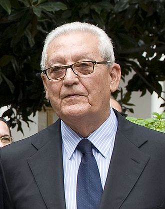 President of Andalusia - Image: Rafael Escuredo Rodríguez 2013 (cropped)