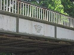 Railway bridge over canal, Burscough.jpg