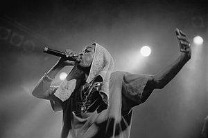 Rakim - Rakim performing in Hamburg, Germany, June 3, 1998