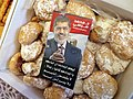 Ramadan sweets made by anti-coup protesters in honor of ousted President Morsi 2013.jpg