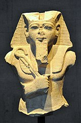 Ramesses II holding a crook and a flail