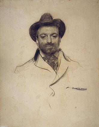 Josep Maria Sert - Sert seen by Ramon Casas (MNAC)