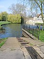 Ramp for punts - geograph.org.uk - 783082.jpg