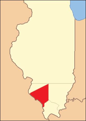 Randolph County, Illinois - Image: Randolph County Illinois 1812