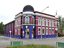 Rangiora's town hall in 2010