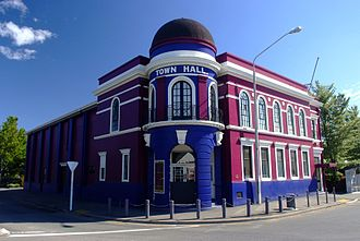 Henry St Aubyn Murray - The Town Hall in Rangiora, designed by Murray in 1925