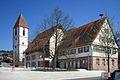 Rathaus Ebhausen Alt- und Neubau.JPG