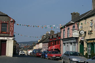 Rathdrum, County Wicklow - Rathdrum Main Street