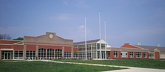 Ravenna High School (Ohio) - Image: Ravenna High new 1