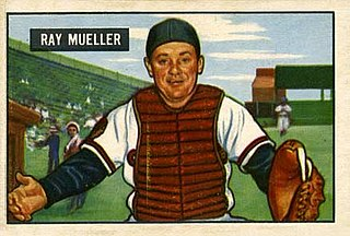 Ray Mueller American professional baseball player