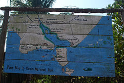 Ream National Park - Tour Map, SHV, Cambodia.JPG