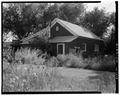 Rear - U. S. Indian Service Laborer's Cottage, Lame Deer, Rosebud County, MT HABS MONT,44-LADE,1-4.tif