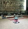 Reconstructed model of Xixia(western Xia) Mausoleum in Xixia museum.jpg