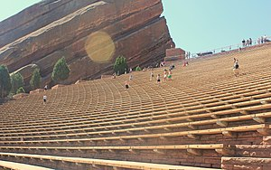 Red Rocks Amphitheatre - Image: Red Rock Amphitheatre Seatings