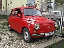 Red Zastava 750 or 850 in in Bosnia and Herzegovina.jpg