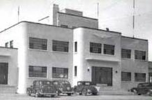 Regina International Airport - The 1939 Art Deco administration building and control tower at the Regina Municipal Airport