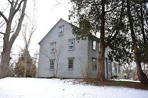 Carpenter House (Rehoboth, Massachusetts) - Image: Rehoboth MA Carpenter House