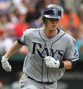 Reid Brignac - Brignac with the Tampa Bay Rays