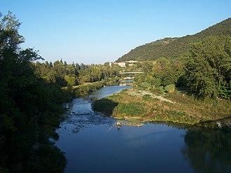 Casalecchio di Reno - The Reno River at Casalecchio.
