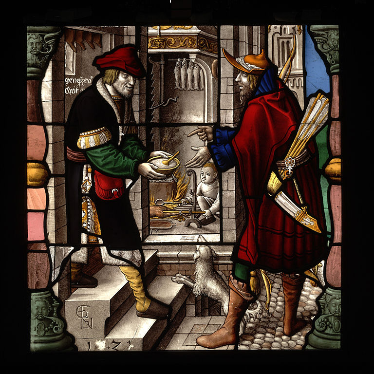 Vitraux de Rensig, Everhard (1521)  au V&A de Londres.
