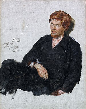 Russian nihilist movement - A nihilist student, by Ilya Repin