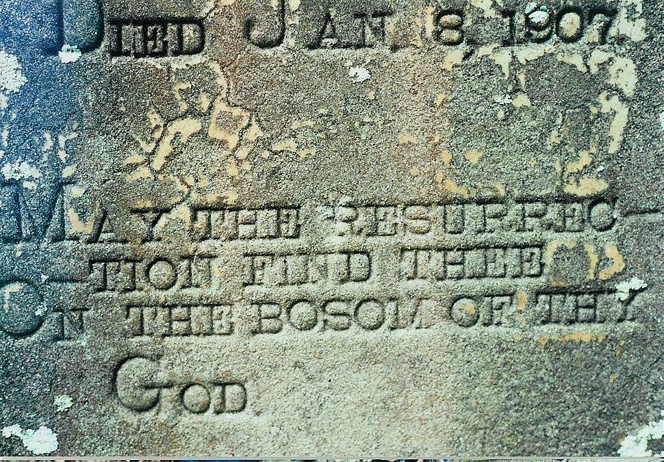 Resurrection-Headstone