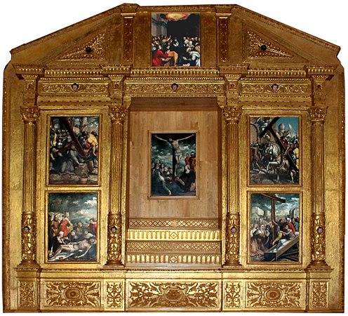 Retábulo do Altar-mor da Igreja Matriz de Santa Cruz da Graciosa (cropped).jpg