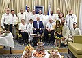 Reuven Rivlin host members of the Honey and Beekeeping Council at the Rosh Hashanah meeting, September 2017 (5670).jpg