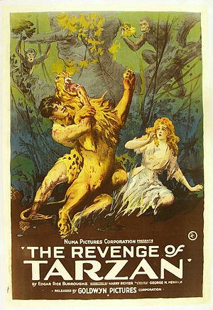 The Revenge of Tarzan - Movie poster