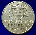 Revolutionary War Medal of the May Uprising in Dresden, Kingdom of Saxony, 1849, reverse.jpg