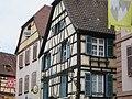 Ribeauvillé - Maison - 28 Grand-Rue (angle impasse du Pêcheur) (pas dans liste) (3-2016) IMG 3281.jpg