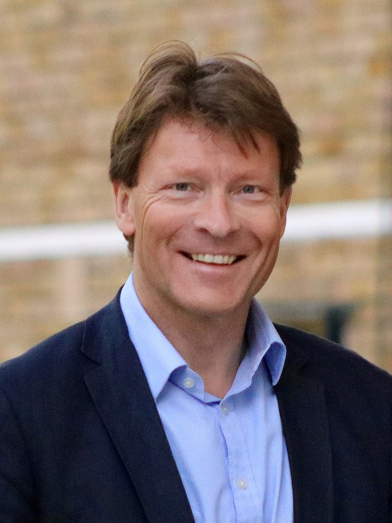 Richard Tice campaigning in London in May 2018.jpg