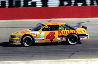Rick Wilson (racing driver) - Wilson's 1989 Winston Cup Series car