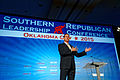 Rick Santorum at Southern Republican Leadership Conference, Oklahoma City, OK 1 May 2015 by Michael Vadon 04.jpg