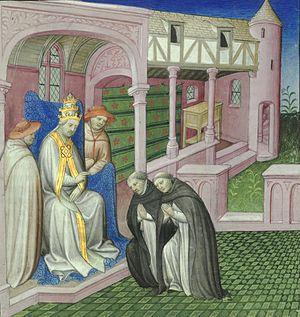 Riccoldo da Monte di Croce - Riccoldo da Monte di Croce and Pope Nicolas IV