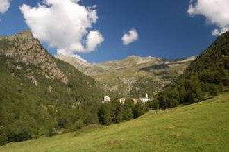 Rima San Giuseppe - view of the town
