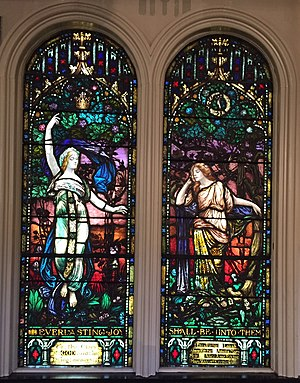 Eliza Ritchie - Ritchie Sisters Windows, St. Paul's Church (Halifax) Nova Scotia