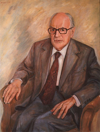 Willy Messerschmitt - Portrait by Günter Rittner (1978)