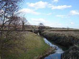 River Tillingham - The river at Beckley