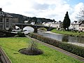 River and road bridge in Langholm - geograph.org.uk - 1193814.jpg