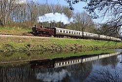 Riverford - L92 down train.JPG