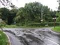 Road junction near Parc Slip Nature Park - geograph.org.uk - 923215.jpg