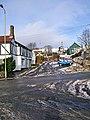 Road opposite car park Cleehill Village - geograph.org.uk - 656275.jpg