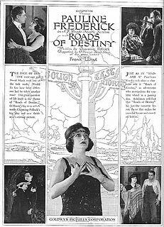 <i>Roads of Destiny</i> 1921 film