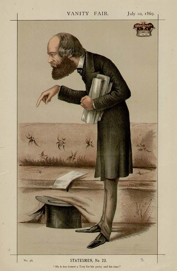 Robert Cecil, Vanity Fair, 1869-07-10