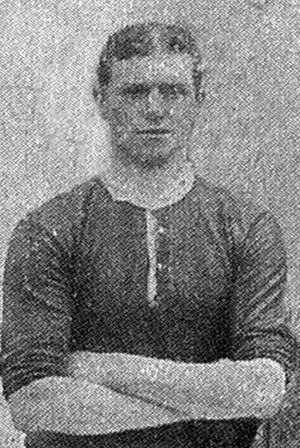 Robert Haworth - Haworth while with Brentford in 1906