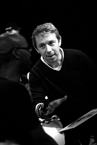 Gilles Peterson - Jazz pianist Robert Mitchell (left) with Gilles Peterson in October 2008.