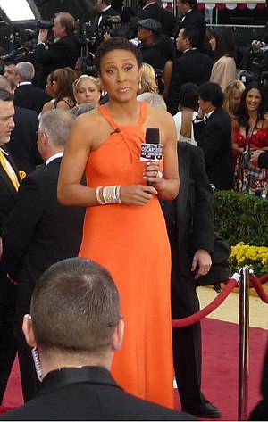 Robin Roberts, newscaster on ABC at 81th Annua...