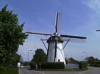 Westvoorne - Image: Rockanje, molen foto 2 2009 05 10 12.35