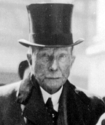 John D. Rockefeller, the oil magnate and richest man in the world